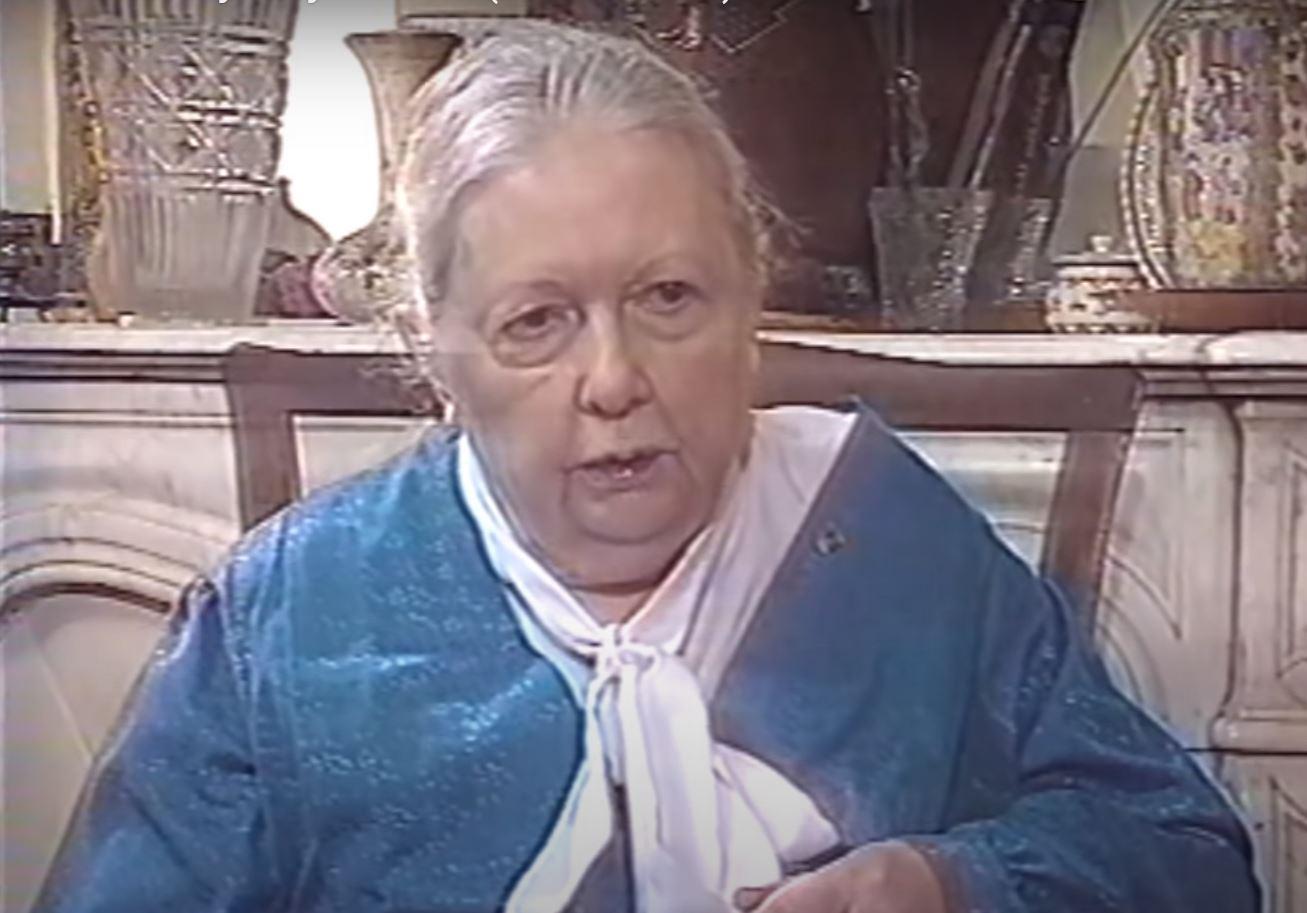 Portrait d'Eva de Vitray Meyerovitch