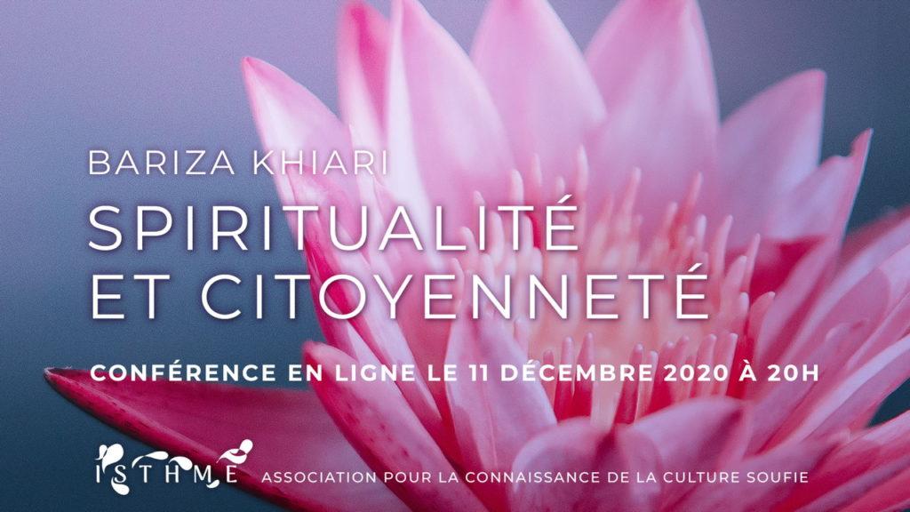 Spiritualité et citoyenneté, avec Bariza Khiari