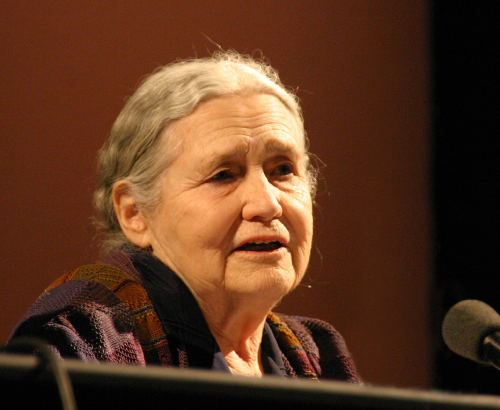 Portrait de Doris Lessing Wikipedia